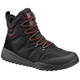 Columbia Fairbanks Omni-Heat Non Shell Shoes Mens Black/Rusty